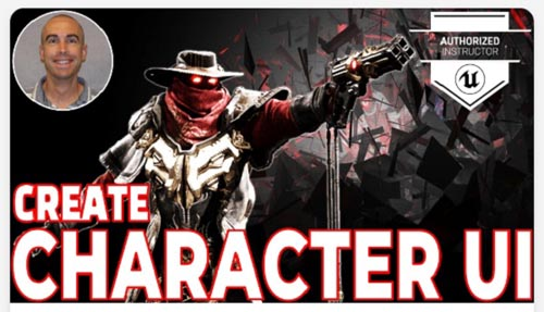 Skillshare - Unreal Engine 4: Character UI Creation