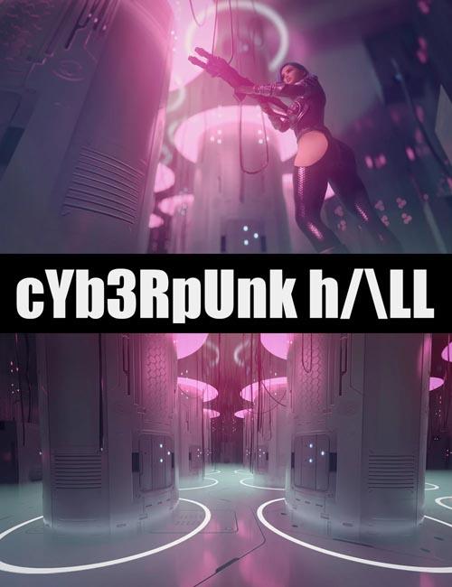 Cyberpunk Hall