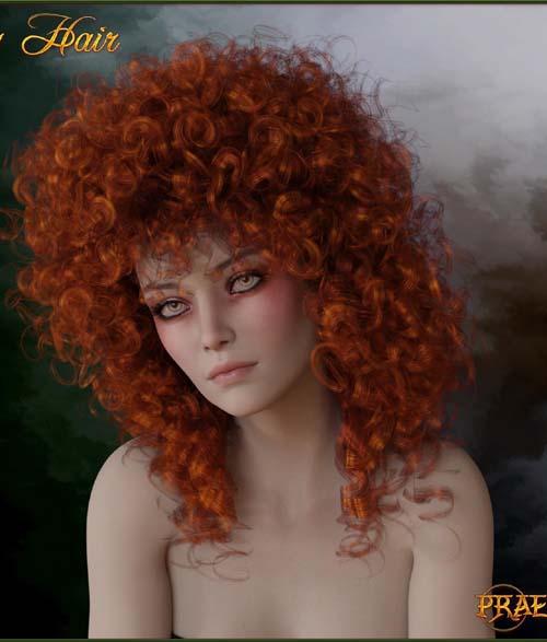 Prae-Lucy Hair For G8 Daz