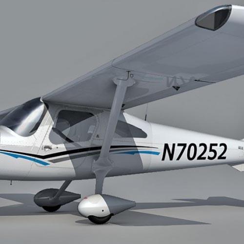 3D Models Cessna 162 Skycatcher 3d model free download