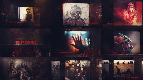 Videohive - The Pandemic Montage - 26109394