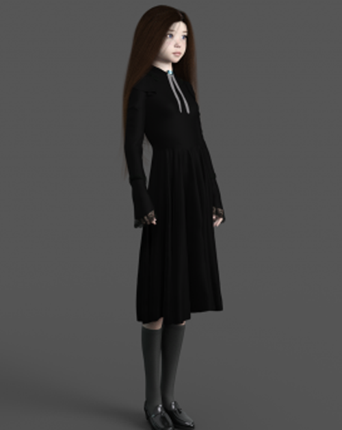 Gothic Outfit for G8F