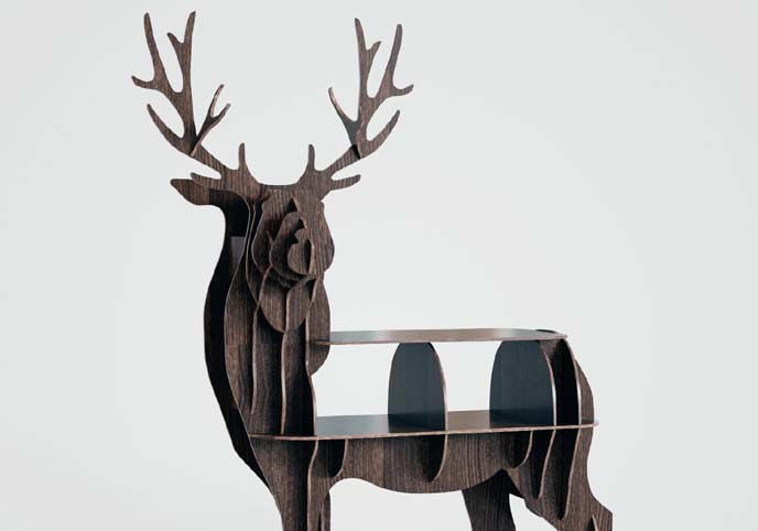 Deer table modern style.