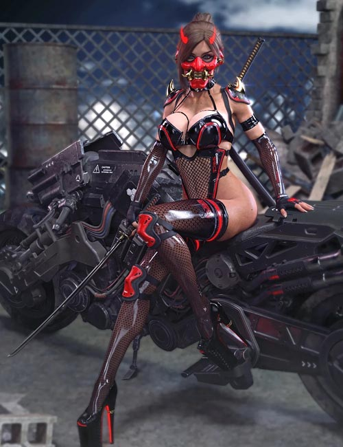 Cyber Samurai Expansion for Umbra Outfit