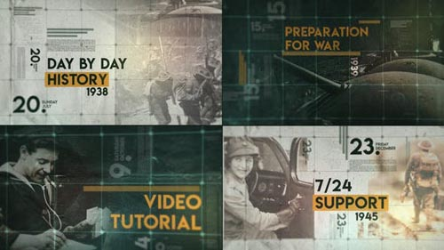 Videohive - Day by Day History - 29732599
