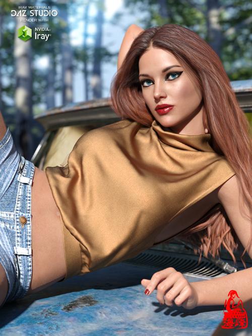 dForce Sleeveless Pullover for Genesis 8 Female(s)
