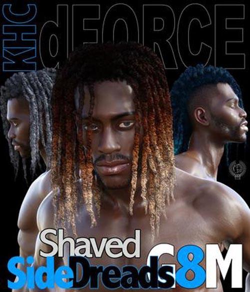 Shaved Side Dreads G8M