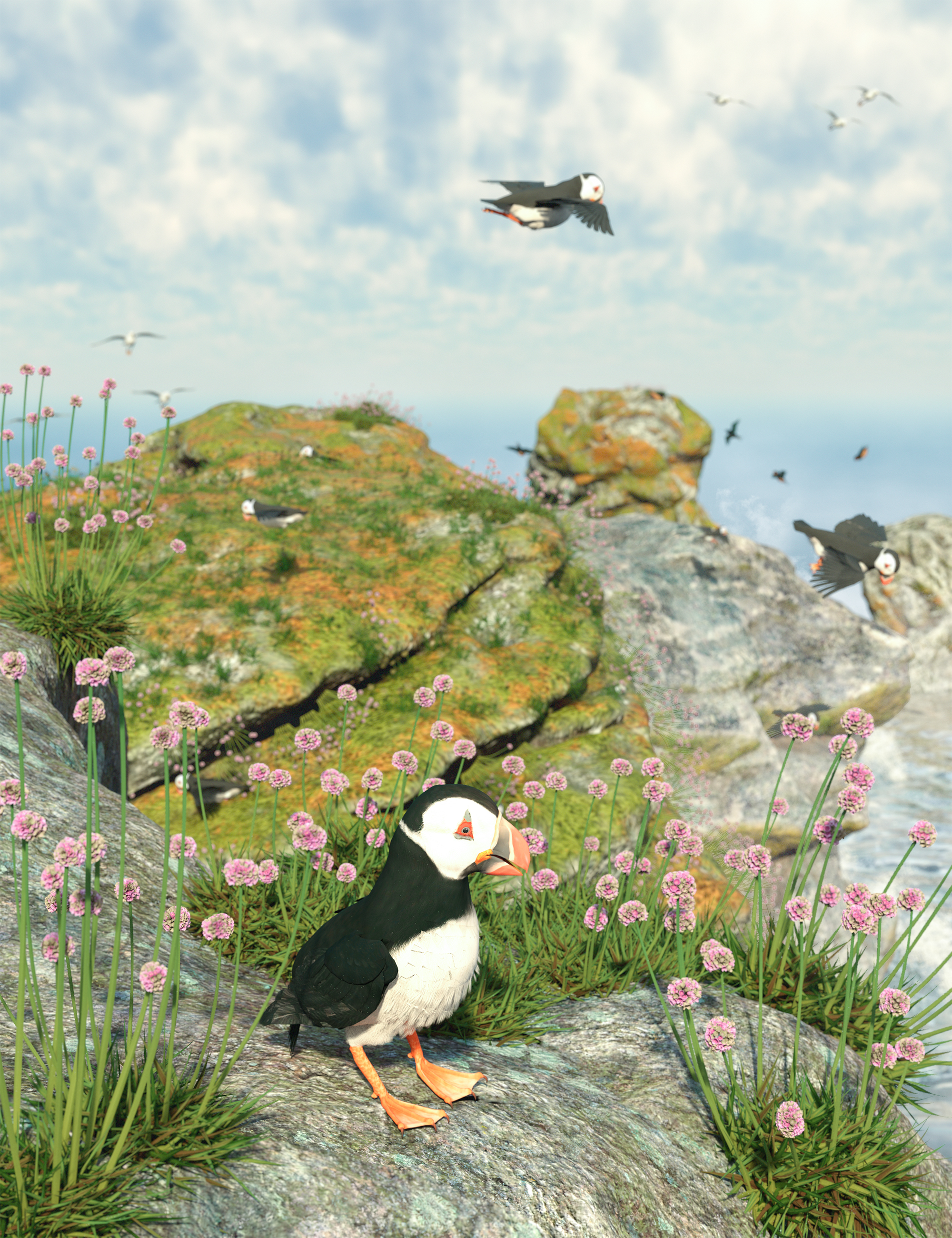 Tiny Plants - Flowering Sea Thrift