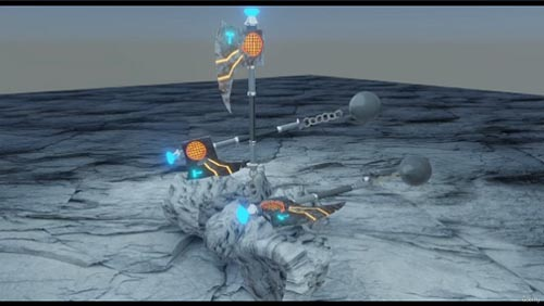 Udemy - real worrier axe in blender | blender animation, modelling