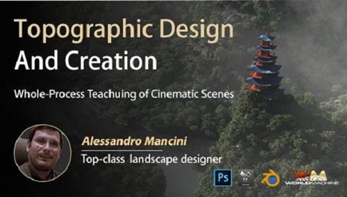 Wingfox - Terrain Design and Creation - A Whole-Process Case Teaching of Cinematic Scene with Ale...