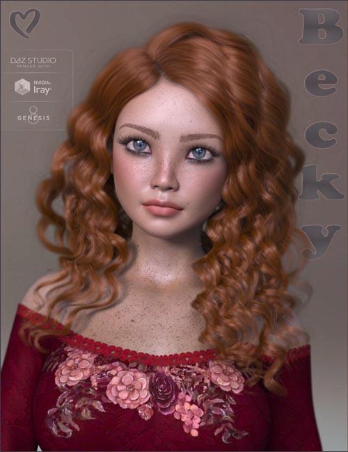 TDT-Becky for Genesis 8 Female