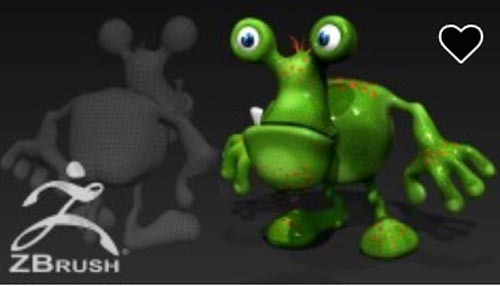 Become a ZBrush Master: Create Your Own Toon 3D Characters