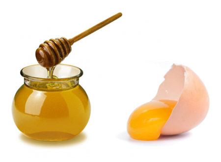 Mặt nạ chăm sóc da bằng mật ong và lòng trắng trứng gà
