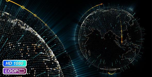 Cyber Earth Globe