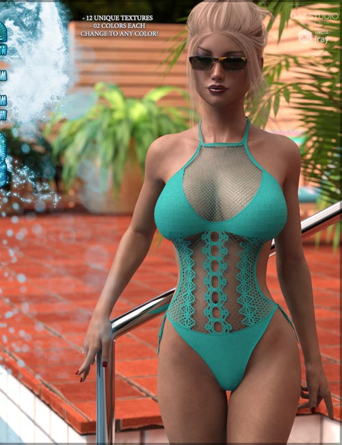 SWIM Couture for Crochet Monokini