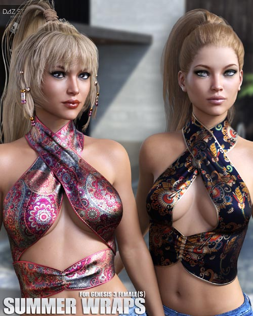 Summer Wraps for Genesis 3 Females