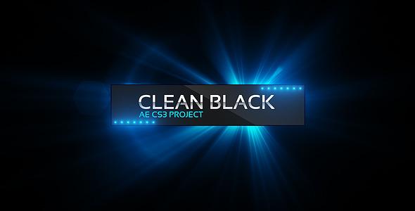 Clean Black Presentation