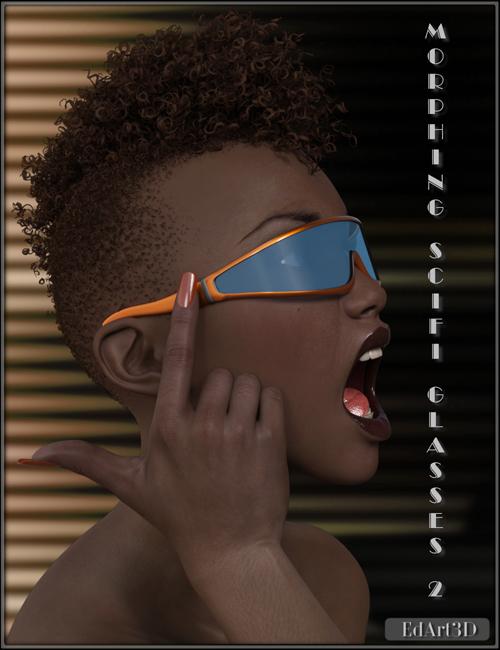Morphing SciFi Glasses 2 for G3F