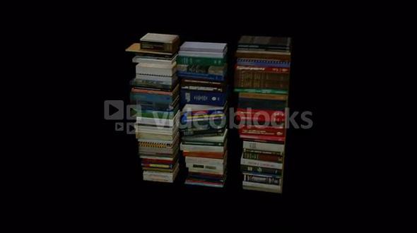 Round Pile of Books