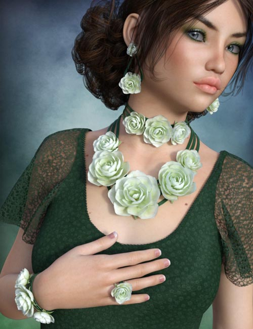 Rose Jewelry for Genesis 3 Female(s)
