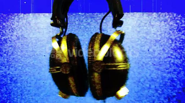 Digital Glitch Headphones