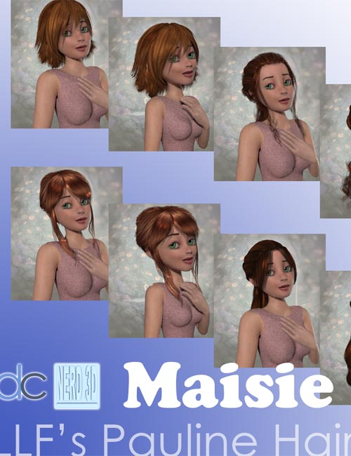 Hair Fits: LLF Pauline Hair to Maisie
