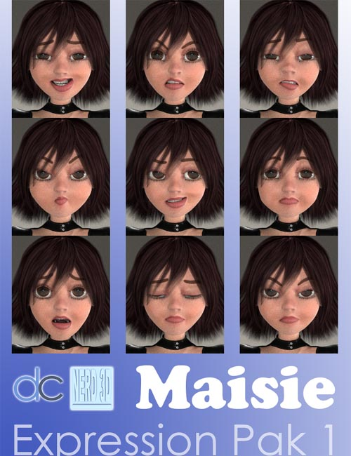 Maisie Expression Pack 1