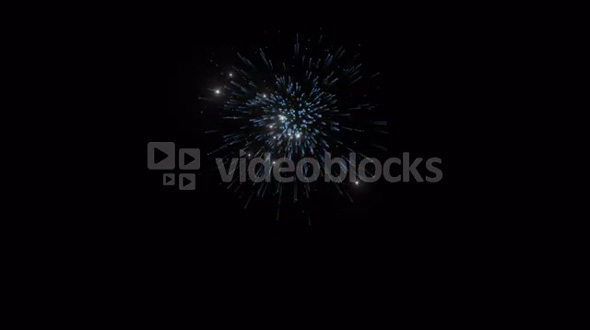 Sparkling Firework Element