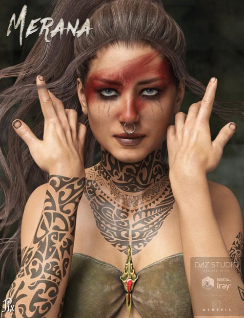 Pix Merana for Genesis 3 Female