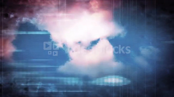 Clouds Over Tech Texture