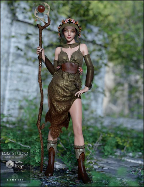 Woodland Magic for Genesis 3 Female(s)