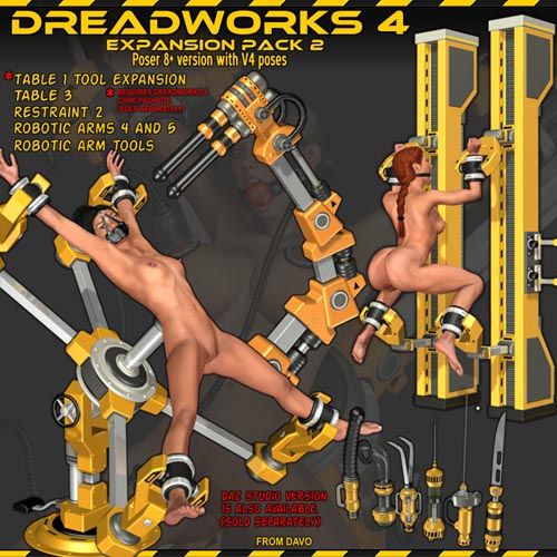 Dreadworks 4 Expansion Pack 2 POSER VERSION