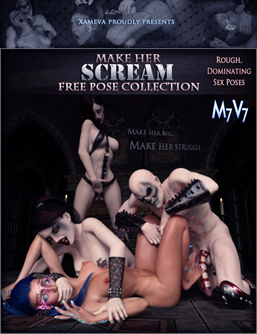 Make Her Scream FREE - Poses For V7 And M7