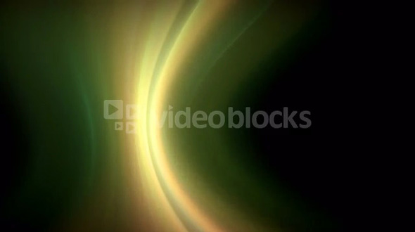 Green Light Wave Motion Background