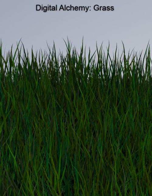 Digital Alchemy: Grass