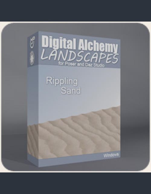 Digital Alchemy: Rippling Sand