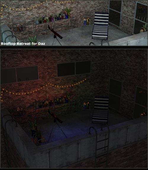 Rooftop Retreat for Daz