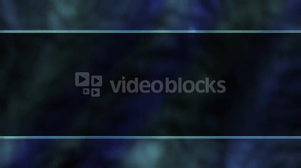 Dark Blue Banner Blur