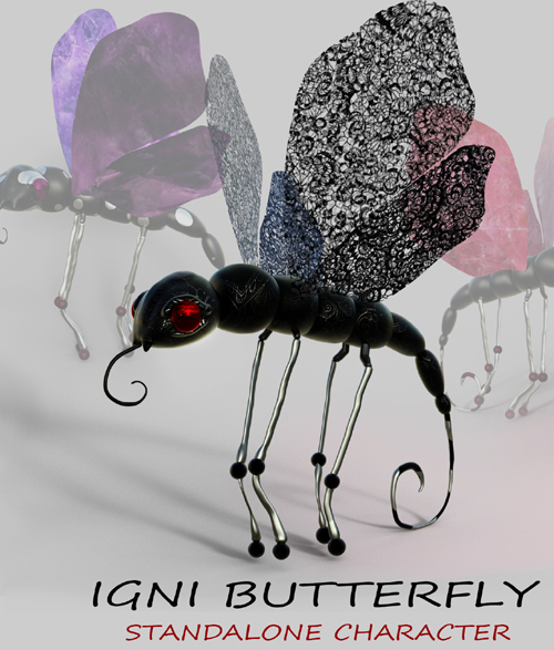 Igni Butterfly - Standalone Character
