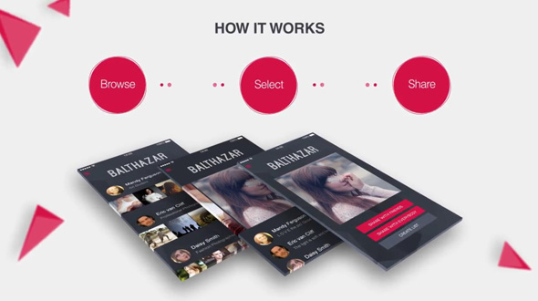 Parallax Mobile App Video Presentation