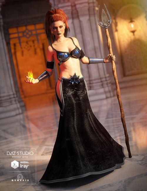 Mystical Mage for Genesis 3 Female(s)