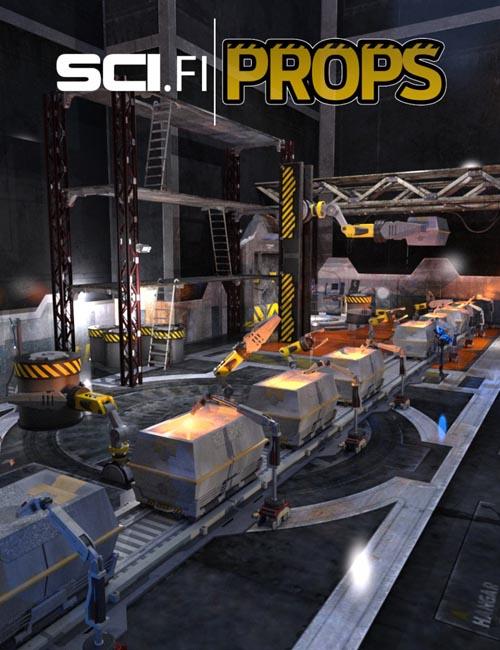 Industrial Sci-fi Construction Kit
