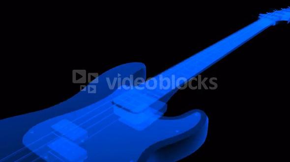 movement blue shine guitar