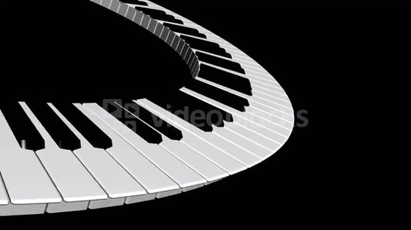 Spinning special keyboard