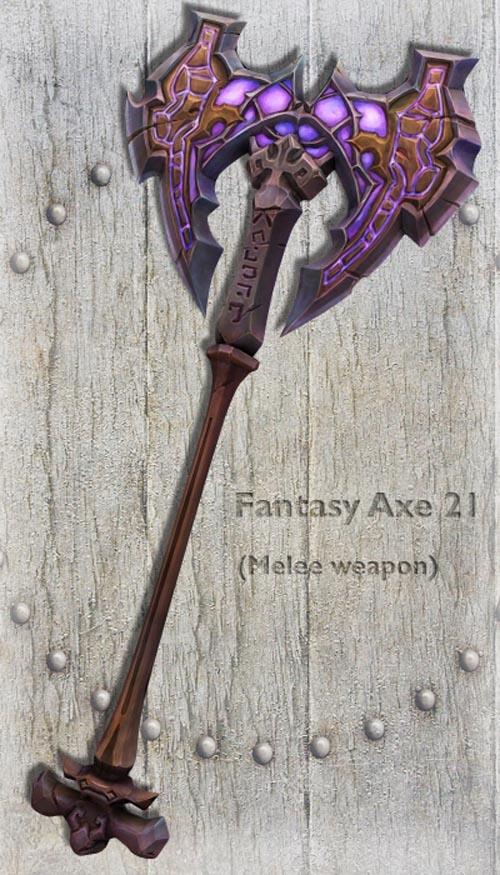 Fantasy Axe 21