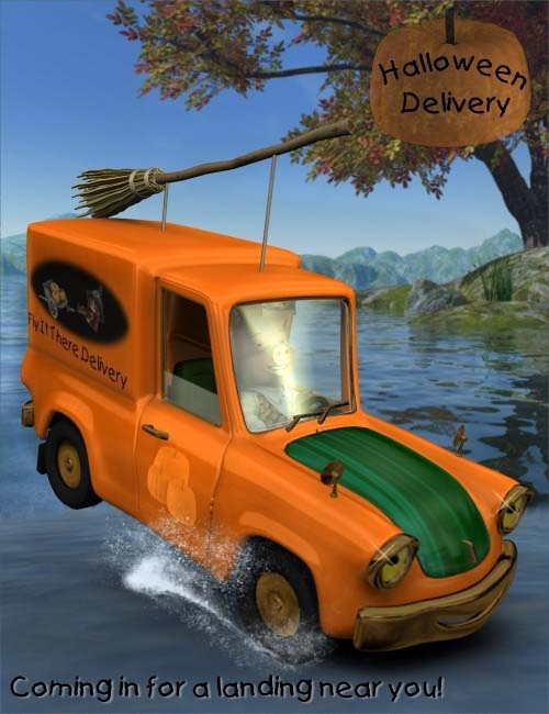 zz* - Night of the Living DAZ Halloween Delivery