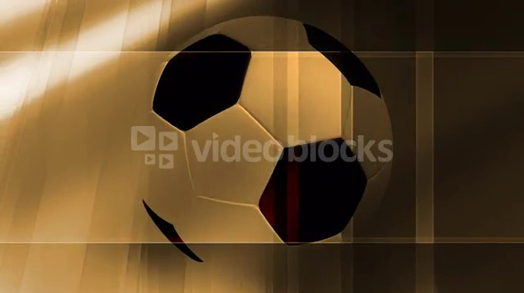Rotating Soccer Ball