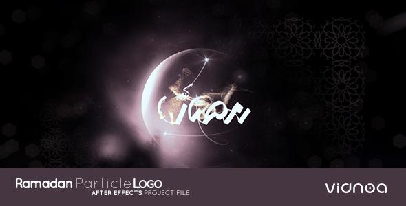 Ramadan Particle Logo