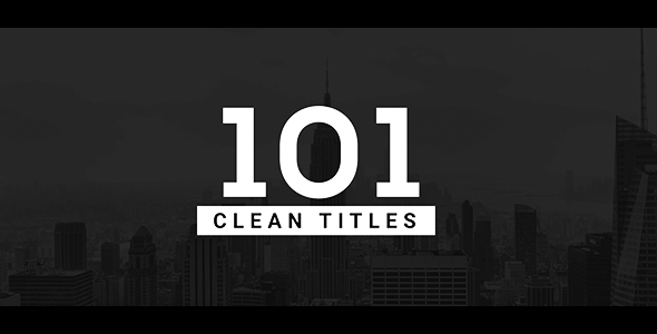 101 Clean Titles Pack