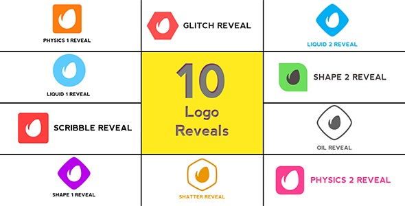 Minimal Logo Reveals Pack